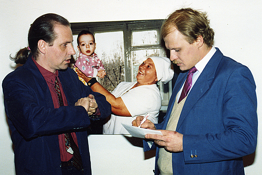 1991 Intevju Ryssk TV Moskva 91