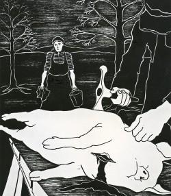 1973 Gris-slakten