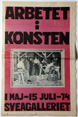 1974 Arbetet i Konsten