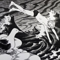 Konstnär Peller Engman - Dyk