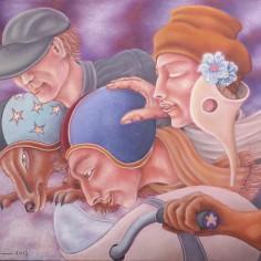 Konstnär Peller Engman - Framfart