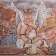 Konstnär Peller Engman - Frälsarkrans