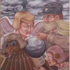 Konstnär Peller Engman - Hymd