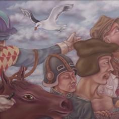 Konstnär Peller Engman - Ritten